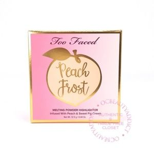 Too Faced Peach Frost Melting Powder - Happy Face